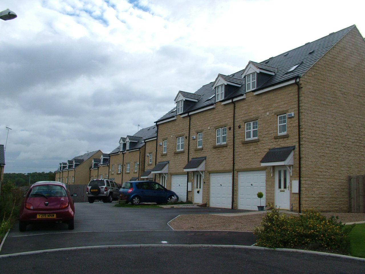3 Storie houses at Elland for Redrow Homes