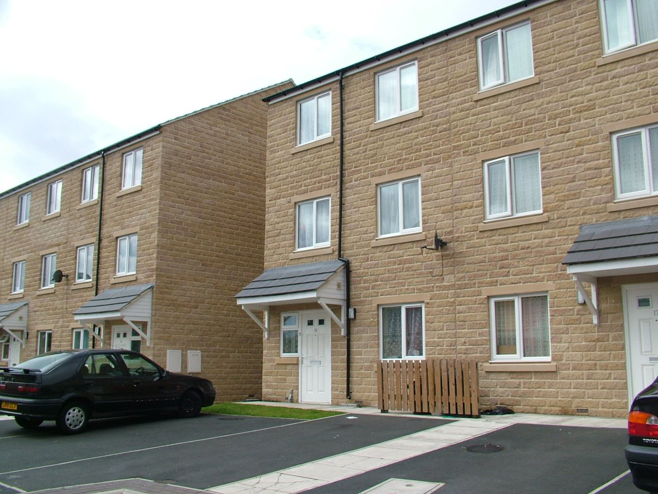 3 storie houses at West Holme Road, Halifax for Southdale Homes