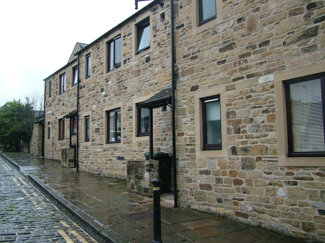 Maintainance work to stone for Southdale Homes at Skipton