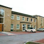 Natural stone & blockwork to offices for Arncliffe Homes at Thorner, Leeds