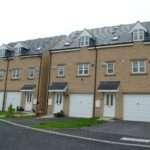 Stone & Block,3 storie houses for Redrow Homes Ltd, Elland